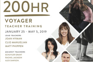 Voyager 200 Hour Teaching Training